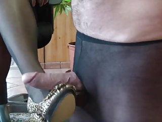 strumpfhosen masturbation manner