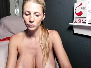 Blonde Milf With Huge Tits Having Fun On Webcam Hd Porn D6