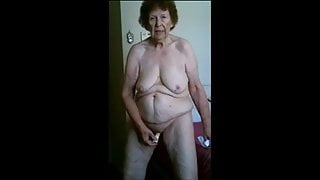 Granny asking for it