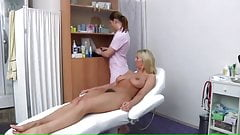 perfect tits examination by a woman doctor