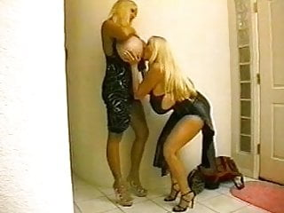 Active adult senior - Sexual activities of two super women.