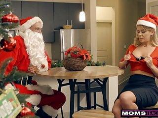 Santa clause nude Momsteachsex - santas horny helpers in christmas threeway s