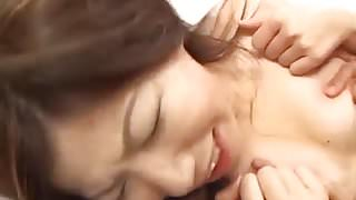 Amazing Japanese sex in rough modes with  Rui Aikawa