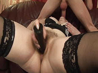 Sexy lady next door - Fucking the old lady from next door