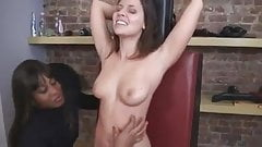 hot girl cali logan tied and tickled