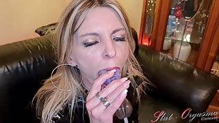 Slave Slut-Orgasma Celeste a little thank you to my fans