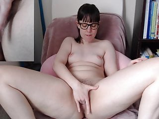 Glasses nerd nude - Nerd with glasses and wide hips