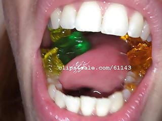 Gay bears fetish - Vore fetish - silvia eating gummy bears video 2