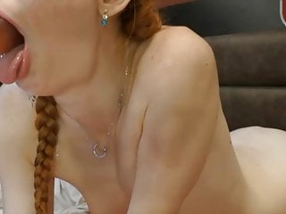 Brutal dildo in ass - Webcam slut deep throats 12 inch dildo in ass and mouth oops