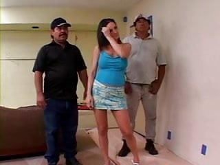 Vaginal exam in labor White woman sfucks 2 mexican laborers
