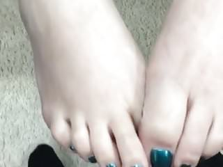 Shared fetish videos Toes cumshot