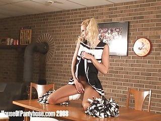 Nfl cheerleaders in pantyhose Pantyhose cheerleader undressing