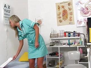 Growing womb bondage Nurse katya shows her womb