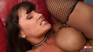 Doll House Fucking in Fishnets