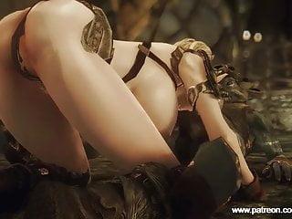 Goblins and fairies porn Lucky goblins fuck elf babe in skyrim