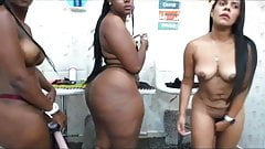 black booty pawg lesbians fucked with strapon hard 2