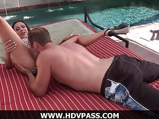Corbin fisher cum eating Hot poolside fucking with amy fisher