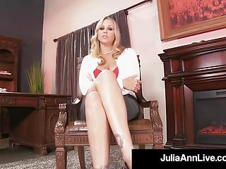 Partyboy jack ass - Stepmom julia ann shows stepson how to jack his cock off