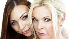 Superhot mature and her younger girlfriend
