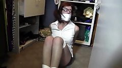 Aunt Sara Tied Up in the Closet