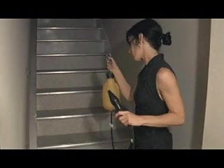 Free bdsm and enema pics - Lesbian bdsm slave stairways to enema