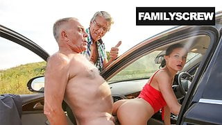 Family Learns how to Get the Girl