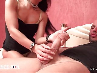 Riding a guy sex Small titted french slut blowing and riding a guy