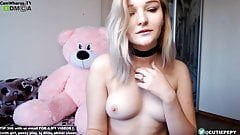 Young blonde sexy teen camshow from chaturbate