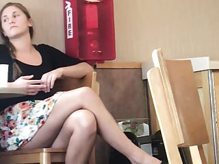 Food for teens Fast food upskirt