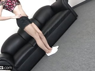 Door lesbian next nikki video Nikki next gets fishhooked and fucked on the bang couch