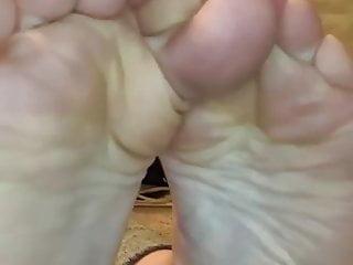 Paige hilton sock fetish Paiges foot joi