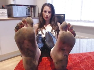 Retro feet fetish Bare foot dirty feet fetish