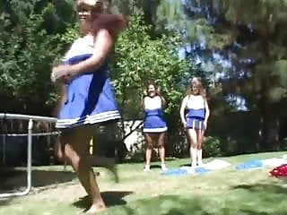 Lesbian cheerleaders with big tits Chubby cheerleading lesbians