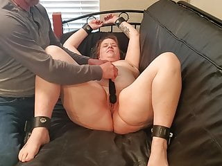 Girl forced into sex Slave forced to cum
