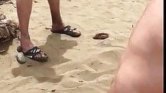 Libertine pour vieux pervers a la plage