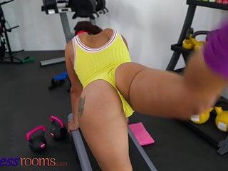 Www wild pussy com Fitness rooms, ebony babe jasmine webb enjoys wild pussy stacking