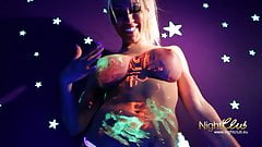 Neonpussy, Ficken unter Schwarzlicht