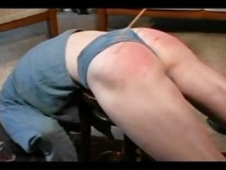 Spank the boys Granny straps and spanks the boy pt3