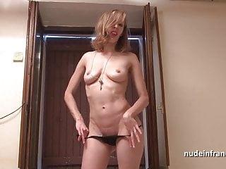 Ultra skinny slut - Skinny slut hard analized and facialized