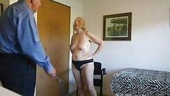 Slut Sue takes her punishment