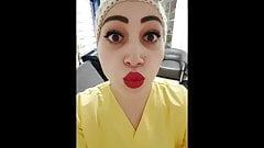 Covid turco enfermera hemsire