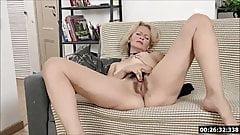 Lustful deaf-mute grandma Russian Diana... 2
