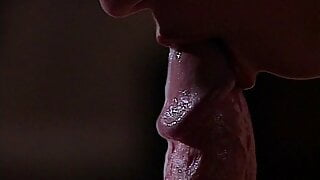 Melody Kord sneaks in for a blowjob