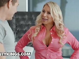 Milf hunter violet Milf hunter - katie morgan xander corvus - study hard fuck