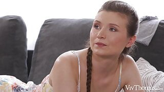 Berenice & Blue Angel - My First Lesbian Massage