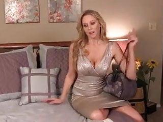 Nude in the bedroom Hot blonde in the bedroom. joi