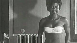 Hot Interracial Newlyweds (1950s Vintage)