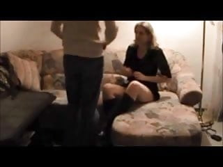 Tall blonde milf handjob - Tall milf caught on hidden cam