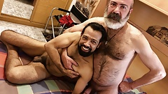 Hairy Macho Barebacking