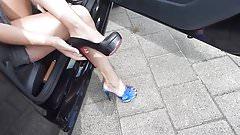 Louboutin high heels